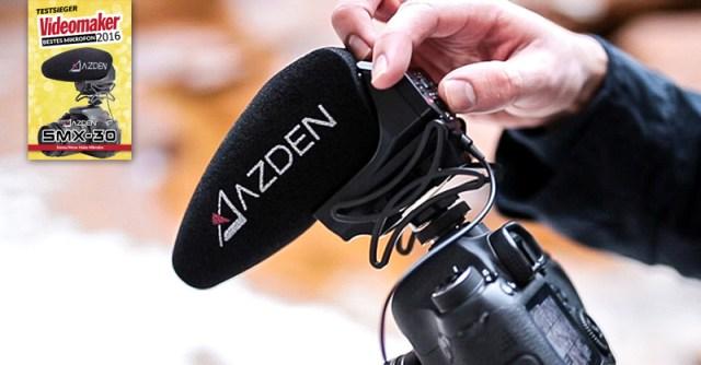 Azden SMX-30 - Videomaker Testsieger 2016