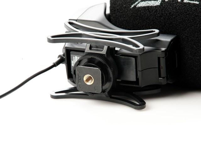 Azden-SMX-30 - Integrierte Schock-absorbierende Halterung