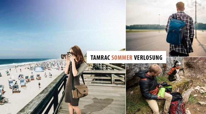 Tamrac Verlosung - hochwertige Fototaschen & Fotorucksäcke