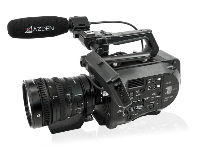 Ideal für kompakte Cinema-Kameras