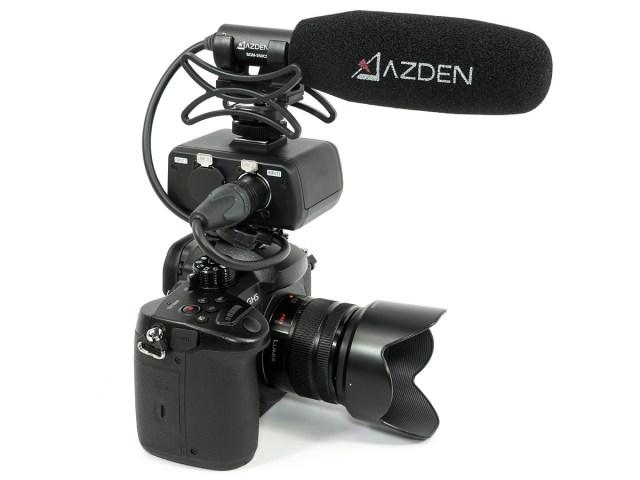 Azden SGM-250CX ideal für spiegellose Kameras