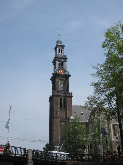 Westerkerk - by the Anne Frank House