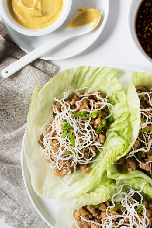 Amazing copycat recipe - P.F. Chang's Chicken Lettuce Wraps are easily made at home and tastes even better!