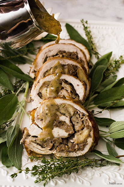 Turkey Roulade - Add Gravy