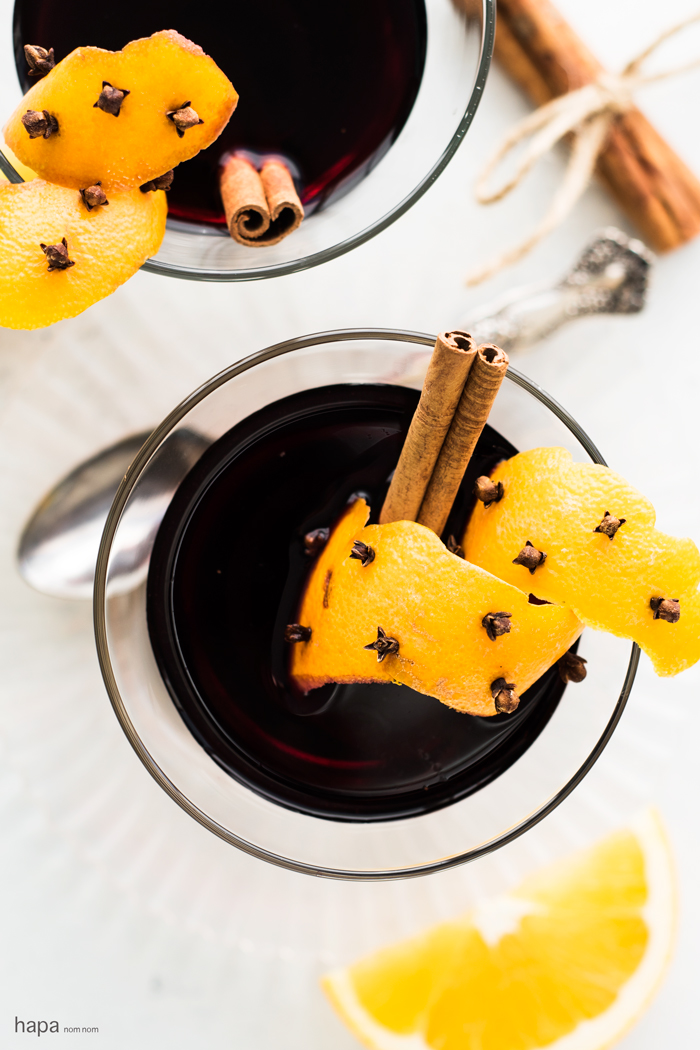 Glogg (Swedish mulled wine) is powerful stuff. A Scandinavian drink that warms the soul on cold winter nights, it's perfect this holiday season!