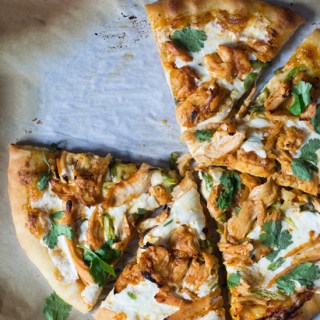 Sriracha BBQ Chicken Pizza