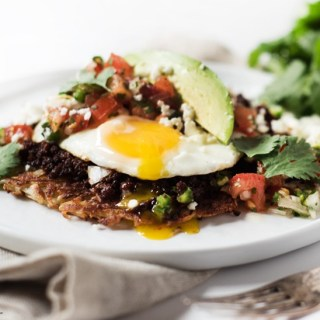 Hash Brown Breakfast Tostada