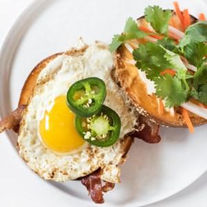 Breakfast Bánh Mì Bagel