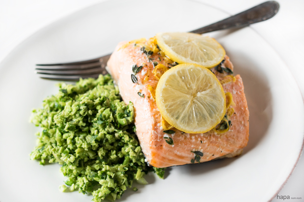 Salmon-En-Papillote-bottom-banneNeed a quick and easy weeknight dinner that's healthy and delicious? Salmon en Papillote with Edamame Mash full-fills all! It may look (and by name, even sound) fussy, but it couldn't be easier, and it's virtually foolproof.