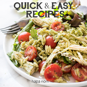 Quick and Easy Recipes on Hapa Nom Nom