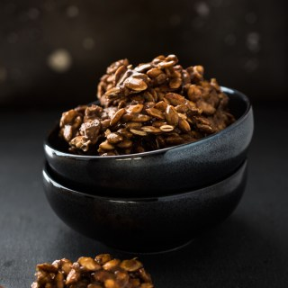 Candied Pumpkin Seed Clusters