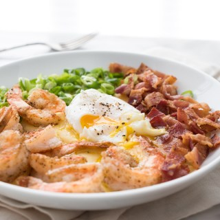 Salt & Pepper Shrimp and Grits