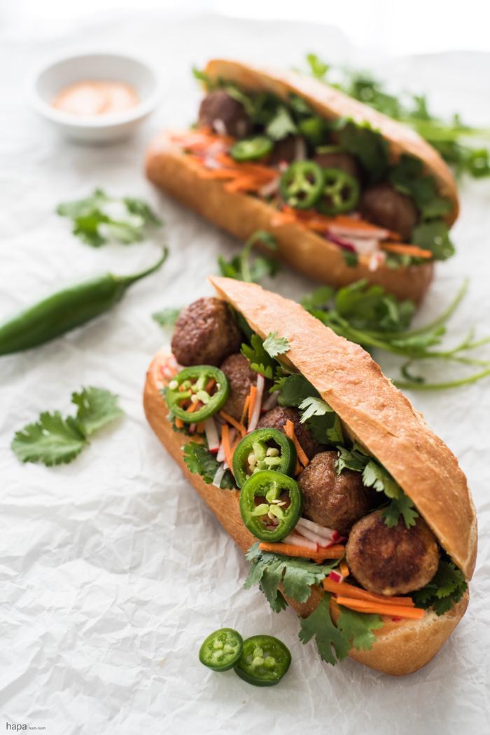 Meatball Bnh M Sandwich