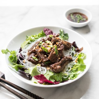 Ginger Beef Stir-Fry with Noodles