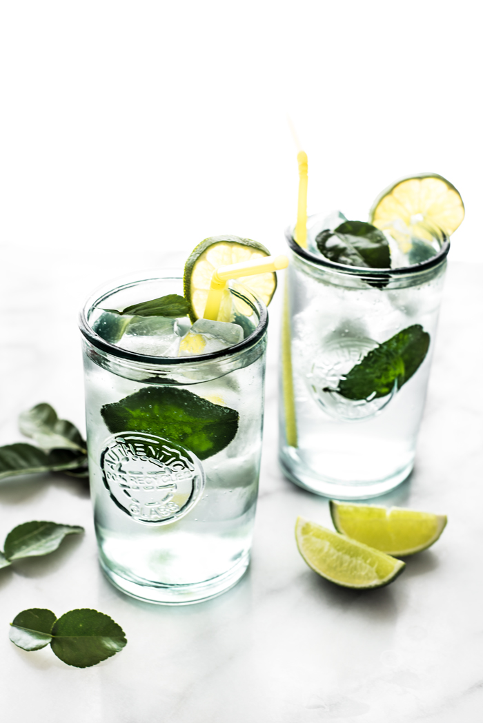 Cool and refreshing, Kaffir Cooler. Make it boozy - think mojito meets Southeast Asia. Or keep it virgin for a perfectly thirst-quenching drink.