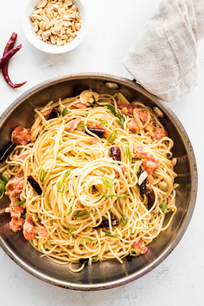 spaghetti pao