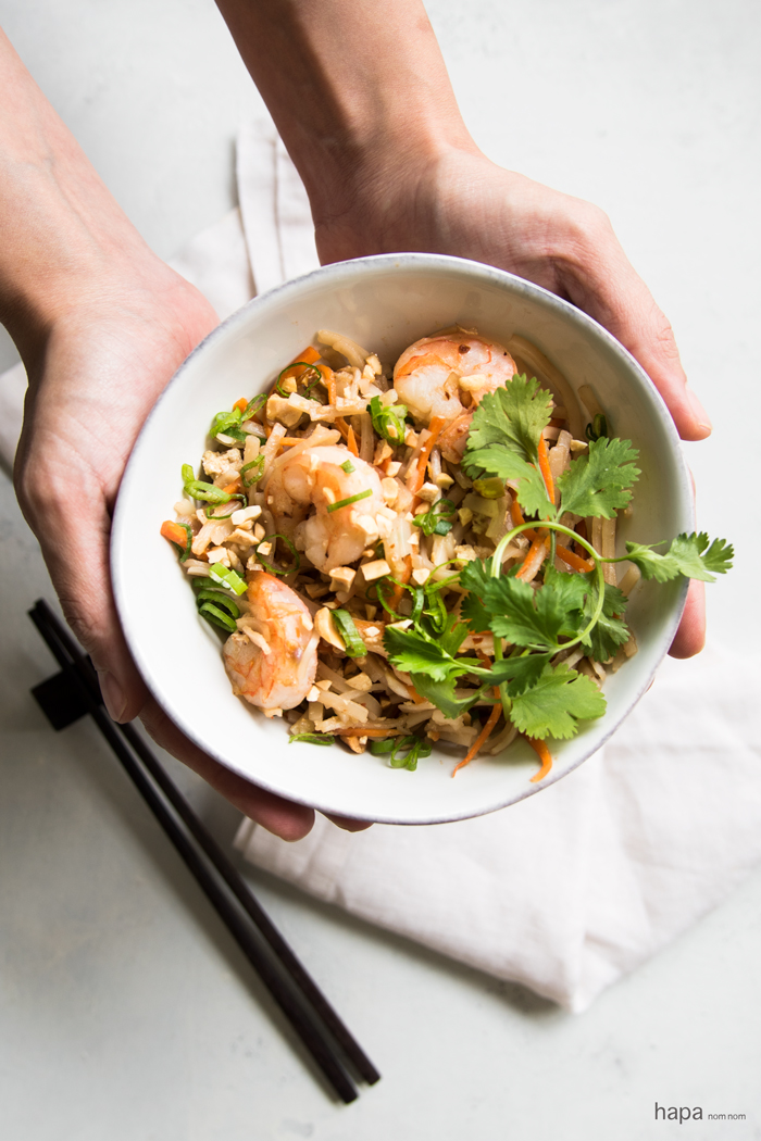 Full of perfectly balanced, complex flavors, with lots of easy to find ingredients - this Shrimp Pad Thai is great for the everyday home cook!