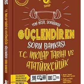 Ankara Yayıncılık 8.Sınıf Güçlendiren İnkılap Tarihi Soru Bankası