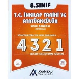 Avantaj Yayınları 8.Sınıf T.C. İnkılap Tarihi ve Atatürkçülük Soru Bankası + Denemeler