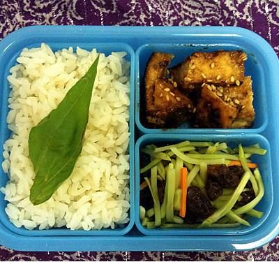 Kung Pao Tofu, Broccoli Salad