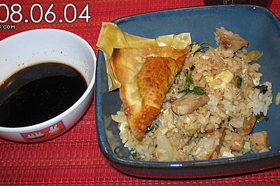 Nokorimono Dumplings & Fried Rice