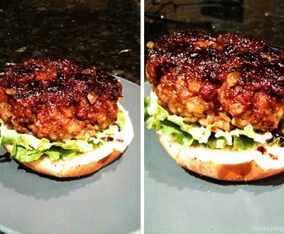 Soy-Glazed Burger (てり焼きバーガー)