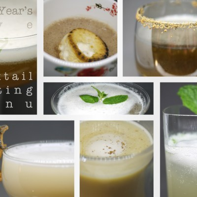 NYE Cocktail Tasting Menu