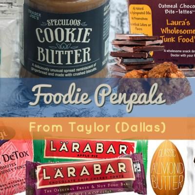 Foodie Penpals: October