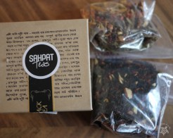 Sahpat Teas - Toasted Almond & Fruity Sangria