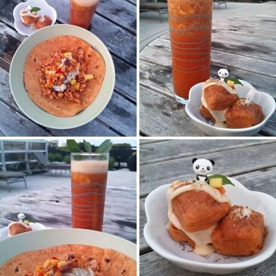 Mango & Tomato Menu
