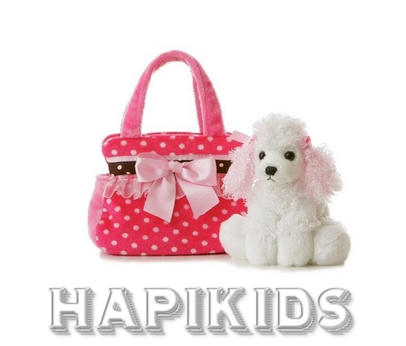 Fancy Pals Pet Carrier Fancy Pink Polka Dot