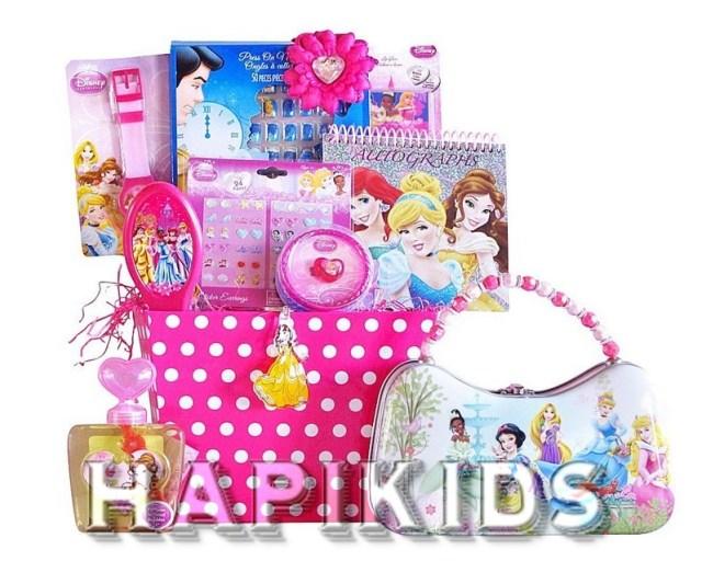 Подарочные корзины с принцессами