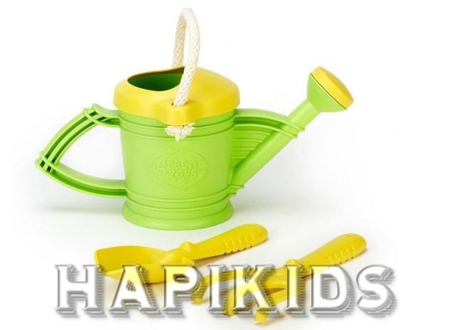 Зеленые игрушки для полива