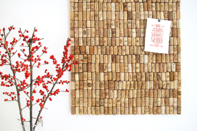 the3rsblog-recycled-cork-board