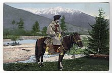 Altay man in national suit on horse - Wikipedia