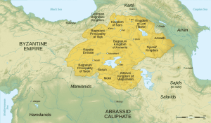Genetic evidence for an origin of the Armenians from Bronze Age mixing of multiple populations