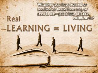 REAL LEARNING LIVING
