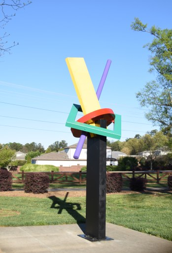 Astral Projection. Artist: Ray Katz. Painted Steel. $25,000