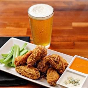 Wings and beer at Jackson's Bar & Oven in Santa Rosa.