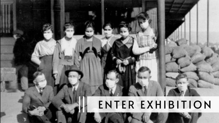 1918 Flu exhibit Museum Sonoma County