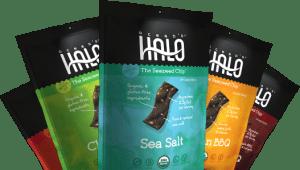 halo-2 snacks de algas