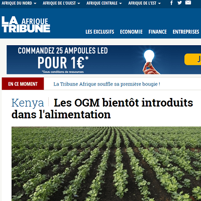 La Tribune Afrique capture 400x400