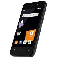 Orange smartphone Sanza touch