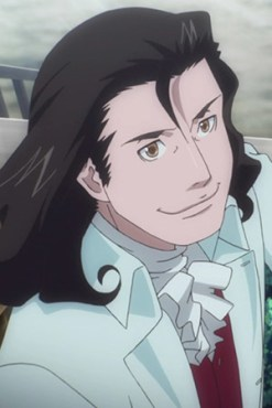 Anime!Benjamin Franklin from Time Travel Girl: Mari, Waka and the Eight Scientists