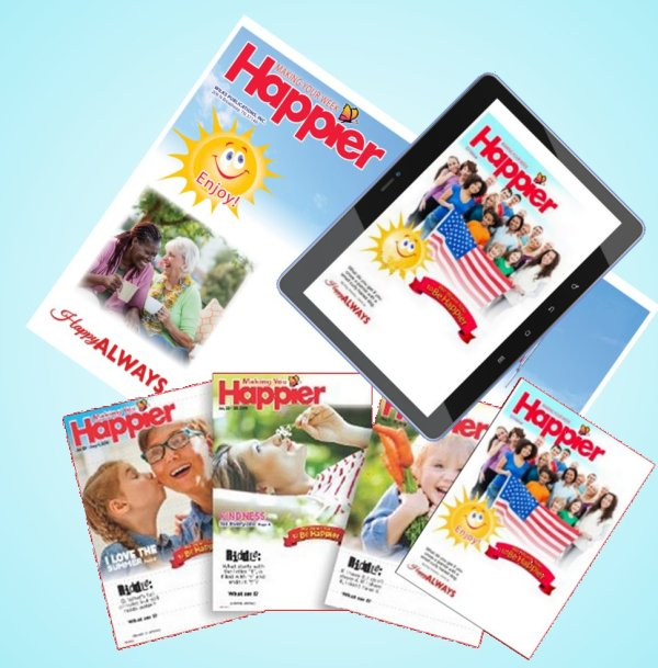 Receive Making Your Week Happier by Print and Online