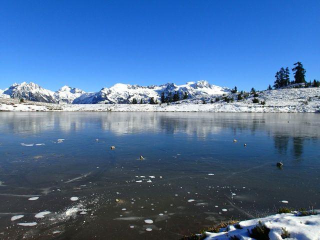 Elfin Lakes Ice