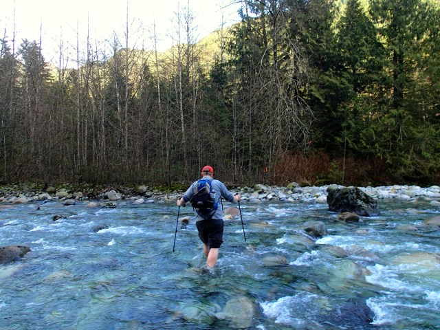Fording Lynn Creek