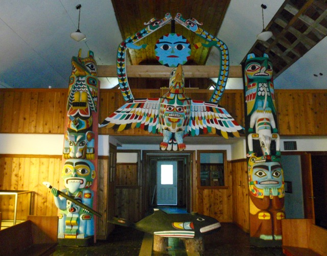 The museum at Yuquot