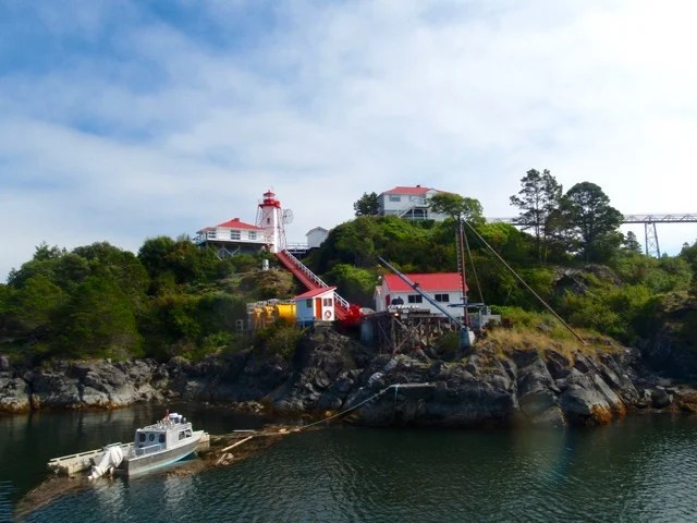 The lighthouse at Yuquot