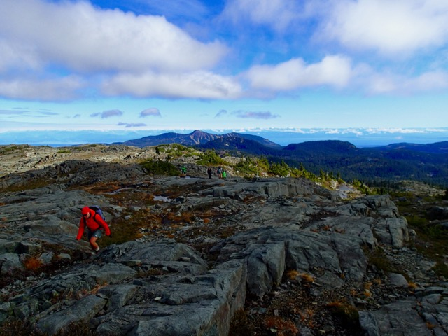 Hiking Mount Albert Edward in Strathcona Provincial Park